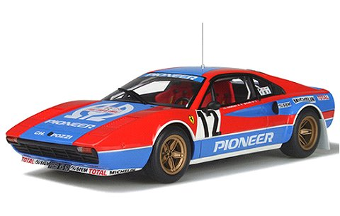 フェラーリ 308 GTB Gr.4 パイオニア ツールドコルス 1982 (1/18 オットーモビルOTM657)