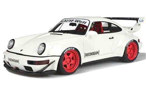 RWB 964 ホワイト (1/18 GTスピリット GTS732)