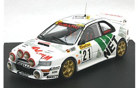 スバル インプレッサ WRC 1998 モンテカルロラリー 8位 A. Kremer/K. Wicha (ナイトライト付) (1/43 トロフュー1106)