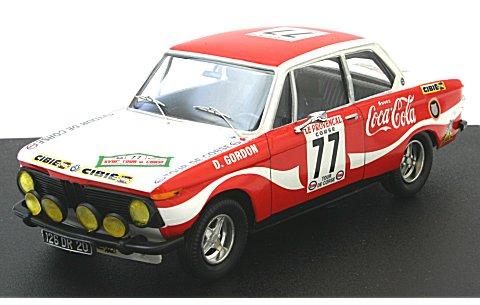BMW 2002 1974 ツール・ド・コルス Gordon/Gordon (1/43 トロフュー1727)