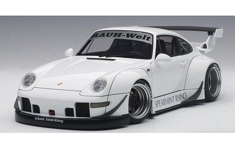 RWB 993 ホワイト/ガンメタ・ホイール (1/18 オートアート78150)