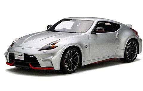 ニッサン フェアレディ Z ニスモ (Z34) シルバー (1/18 GTスピリット GTS138)