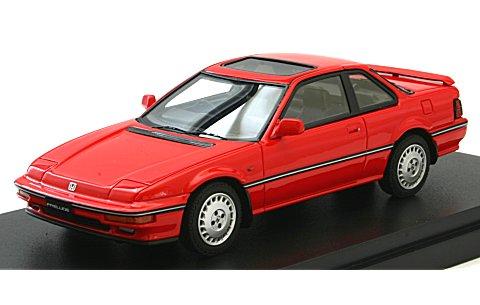 ホンダ プレリュード Si (BA5) 1987 前期型 フェニックスレッド (1/43 マーク43 PM4362R)