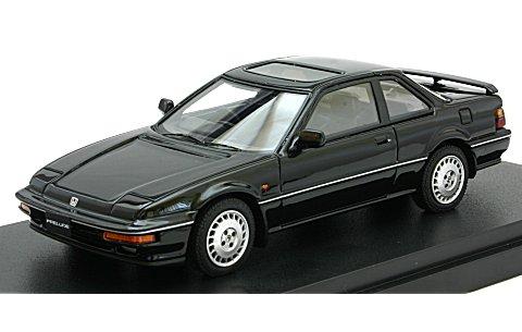 ホンダ プレリュード Si (BA5) 1987 前期型 グラナダブラックパール (1/43 マーク43 PM4362BK)