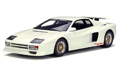 ケーニッヒ テスタロッサ ツインターボ ホワイト (1/18 GTスピリット GTS012KJ)