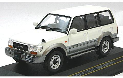 トヨタ ランドクルーザー LC80 1992 ホワイト/グレイ (1/43 ファースト43 F43-059)