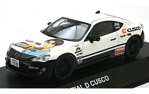 トヨタ 86 頭文字D CUSCO (1/43 京商KS03634C15)