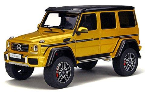 メルセデスベンツ G500 4×4(二乗) ゴールド (1/18 GTスピリット GTS013KJ)