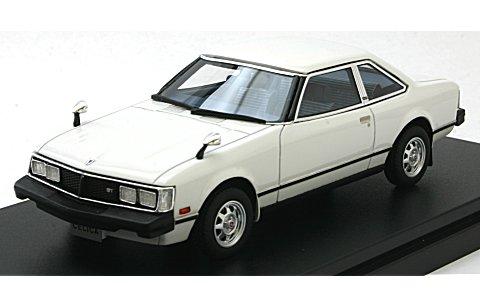 トヨタ セリカ 2000GT クーペ 1979 ピュアーホワイト (1/43 ハイストーリーHS180WH)