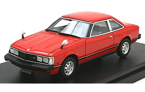 トヨタ セリカ 2000GT クーペ 1979 バーニングレッド (1/43 ハイストーリーHS180RE)