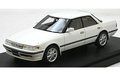トヨタ マークII ハードトップ GT ツインターボ スーパーホワイトIV (1/43 マーク43 PM4356W)