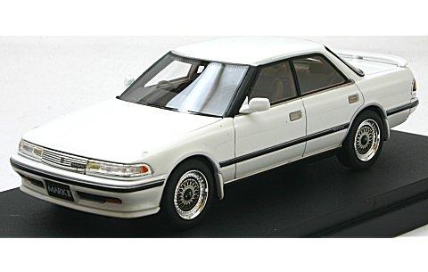 トヨタ マークII ハードトップ GT ツインターボ スポーツVer. スーパーホワイトIV (1/43 マーク43 PM4356SW)