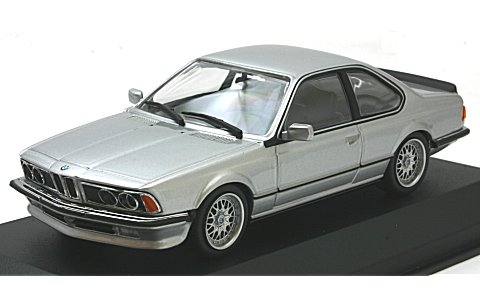 BMW 635 CSI (E24) 1982 シルバーM (1/43 ミニチャンプス940025120)