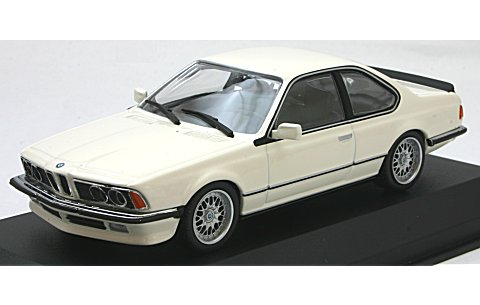 BMW 635 CSI (E24) 1982 ホワイト (1/43 ミニチャンプス940025121)