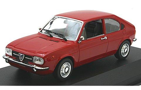 アルファロメオ アルファスッド 1972 レッド (1/43 ミニチャンプス940120100)